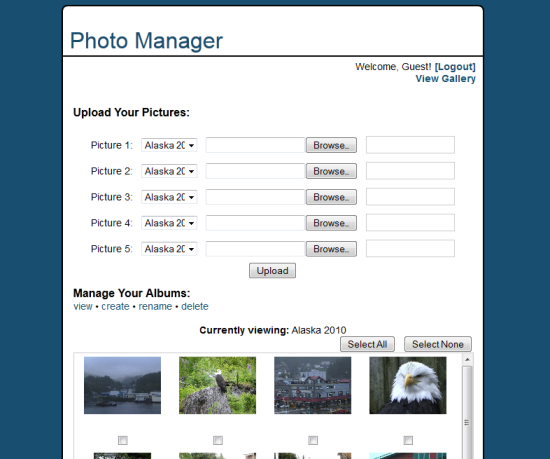 Photo Manager Screenshot